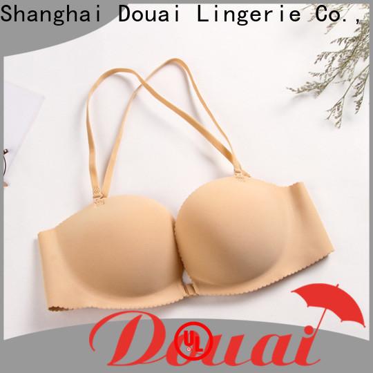 Douai convenient front buckle bra design for ladies