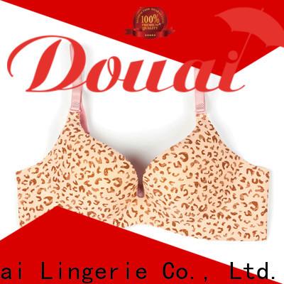Douai full cup push up bra manufacturer for ladies
