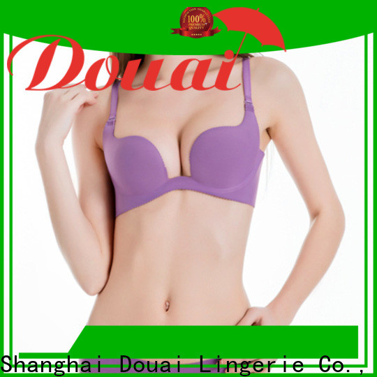 Douai elagant u plunge bra customized for beach