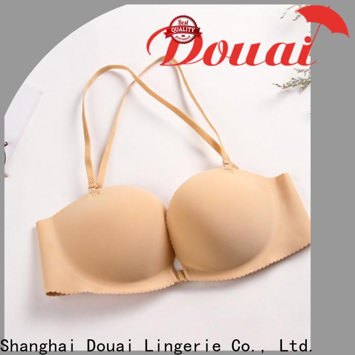 Douai fashionable front button bra supplier for girl