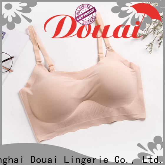 Douai comfortable nude seamless bra manufacturer for bedroom