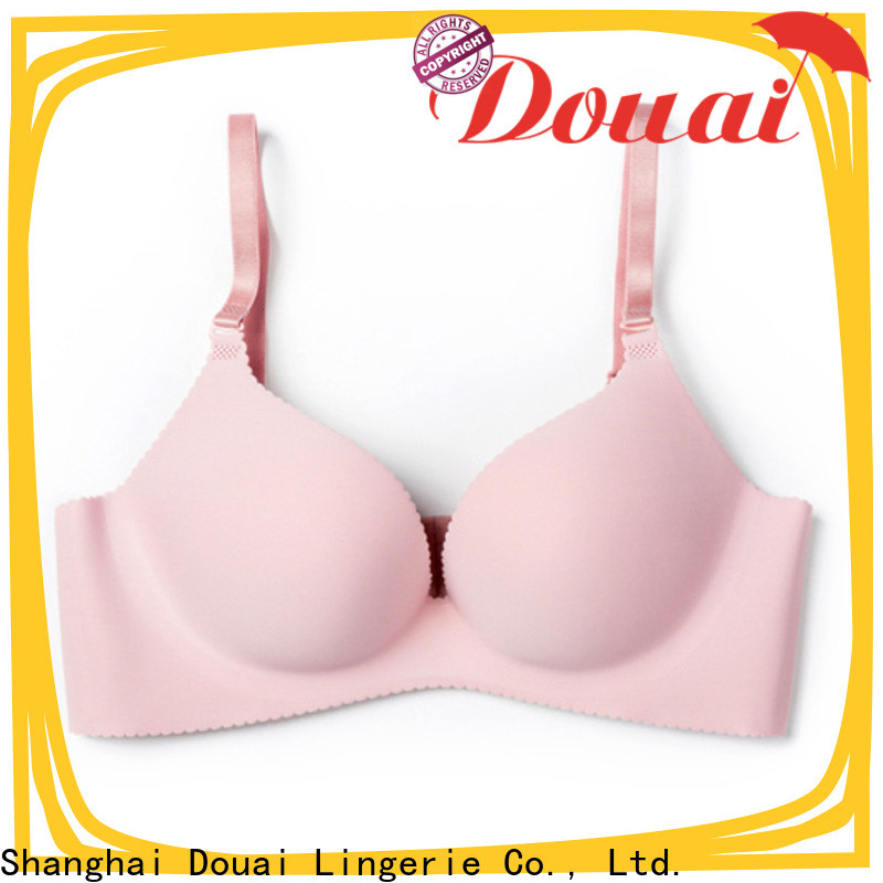 Douai durable seamless cup bra design for madam