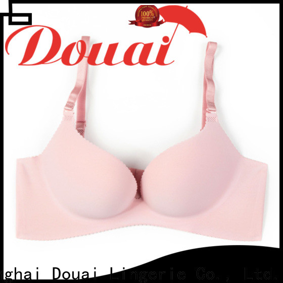 Douai fancy push up bra set supplier for ladies
