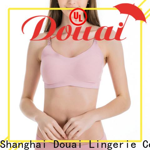 Douai detachable soft bra tops wholesale for bedroom