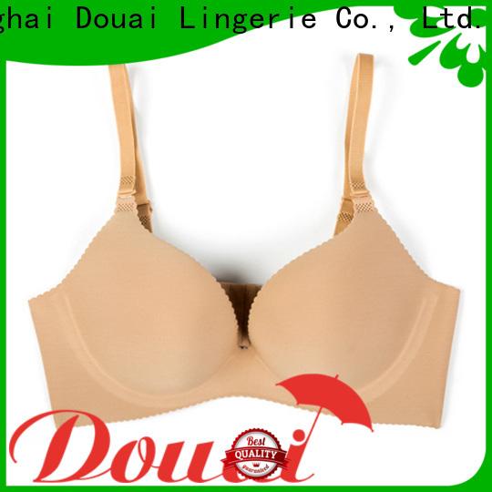 Douai cotton seamless bra on sale for ladies