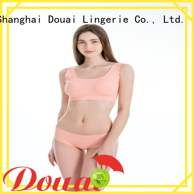 Douai natural womens sports bra supplier for sking