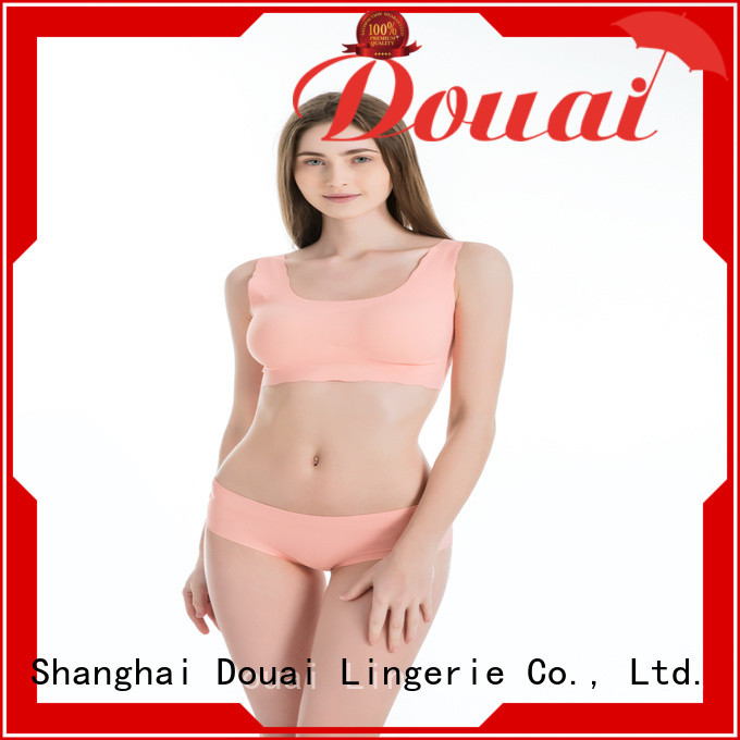 thin ladies sports bra factory price for hiking