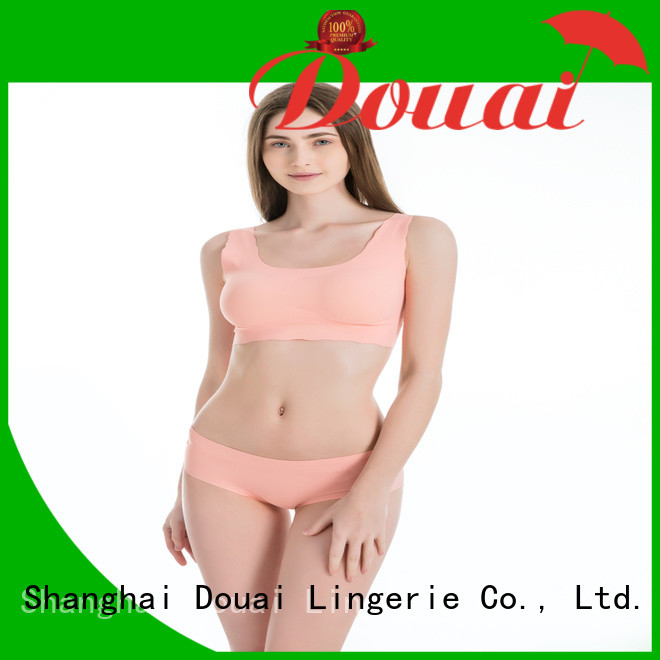Douai elastic most supportive sports bra supplier for hiking
